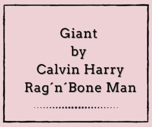 Giant by Calvin Harris&Rag´n´Bone Man